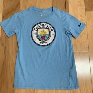 Manchester City FB Blue T-shirt